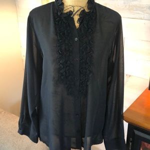 Additions by Chico's sheer blouse. 3 (XL/16)
